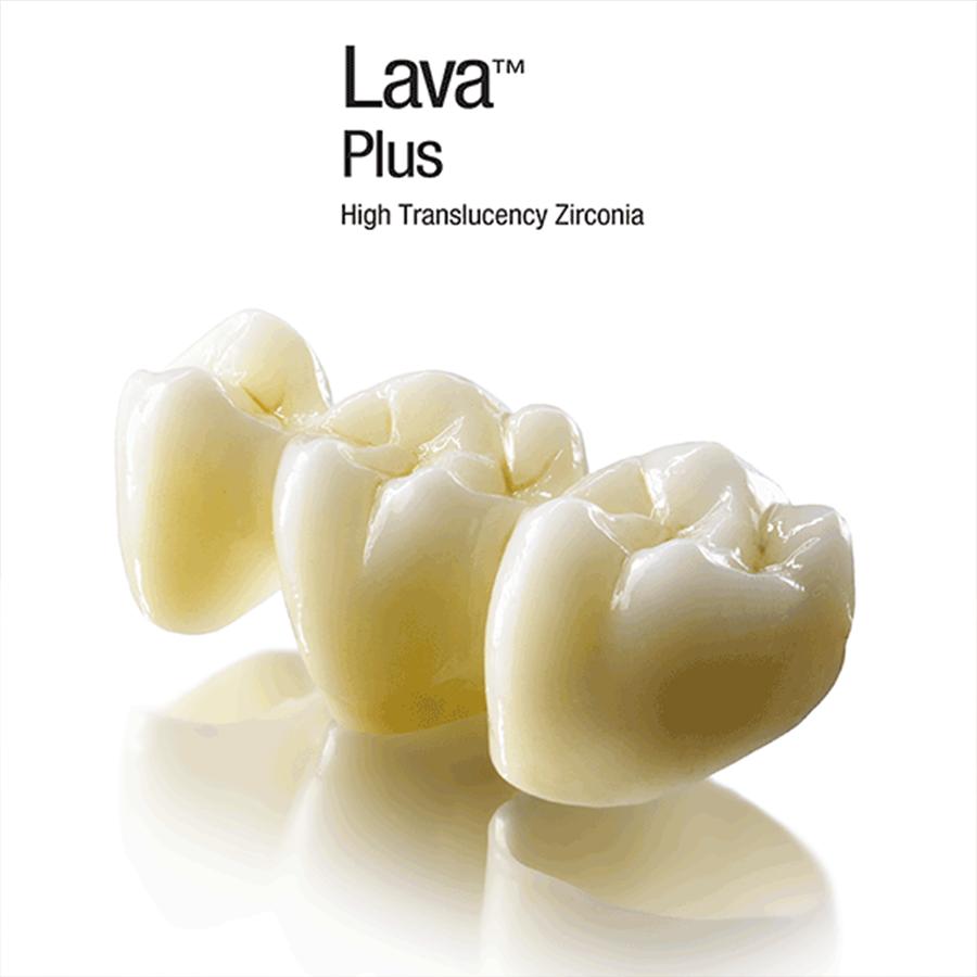Lava Plus High Translucency Zirconia 3m Espe