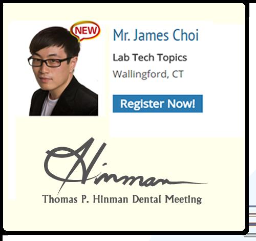 James Choi - Hinman Dental Meeting 2018